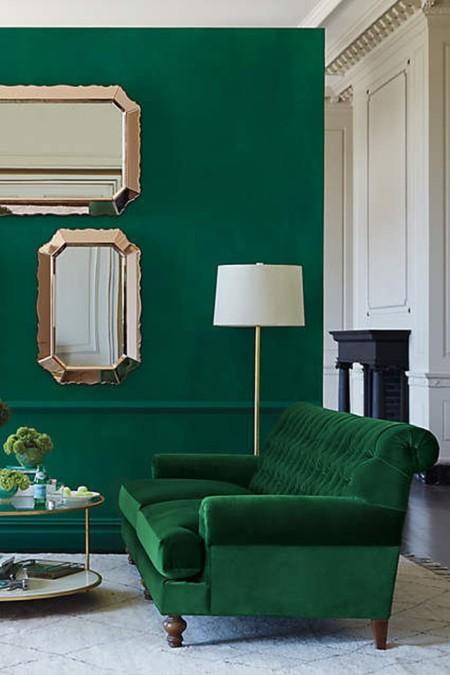 Verde Esmeralda Vestibulo