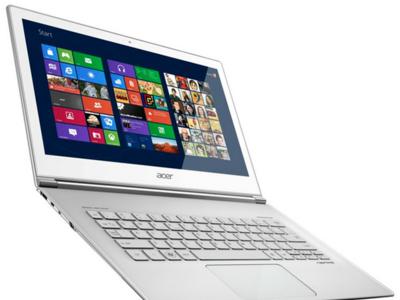 Acer Aspire S7 estrena las pantallas táctiles con Windows 8