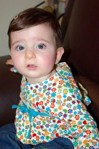 La foto de tu bebé: cómo crece Irene