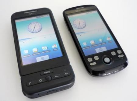 HTC Dream y HTC Magic, qué modelo comprar