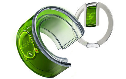Nokia Morph, un teléfono móvil de pulsera