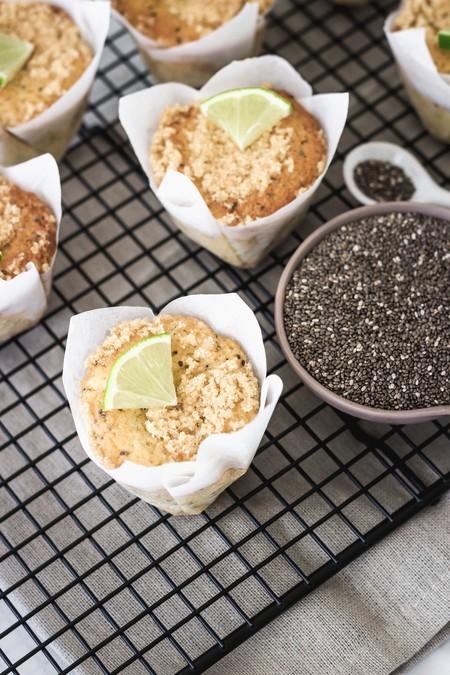 Muffins Limon Chia