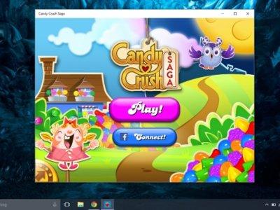 Candy Crash universal para Windows 10 ya está aquí