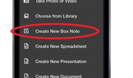 Box ahora sincroniza también notas con Box Notes
