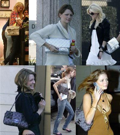 Mischa Barton adicta a los bolsos de Chanel