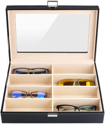 Organización de gafas de sol