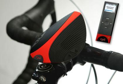 Cy.Fi Speaker: altavoces sin cables para tu bici vía iPod Nano