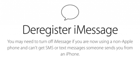 Apple lanza una web para desactivar iMessage en los iPhone que ya no tengamos