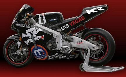 Inscribe tu nombre en la moto del Team Roberts