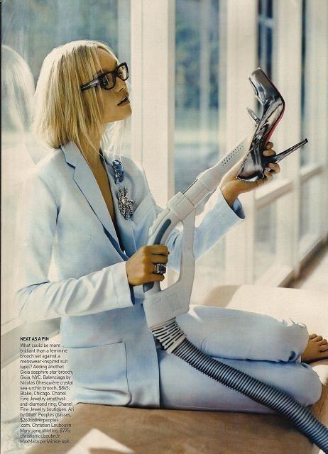 Foto de Gemma Ward - Vogue, diciembre 2007 (1/6)