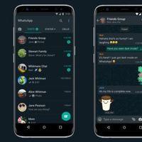 WhatsApp habilita el modo oscuro para todos los usuarios en su última actualización