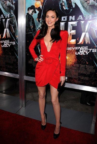 Megan Fox Vestido Armani Privé