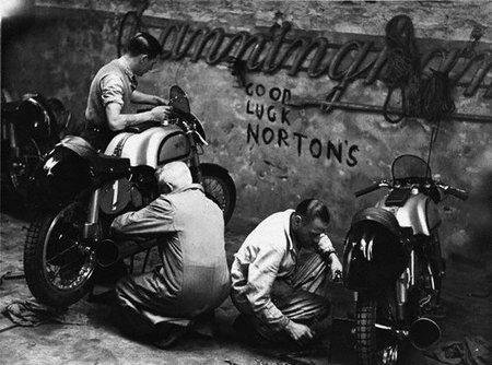 Mensajes de ánimo en el muro de Norton