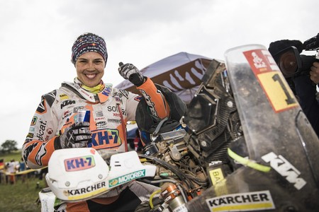 Laia Sanz Etapa 14 Dakar 2018