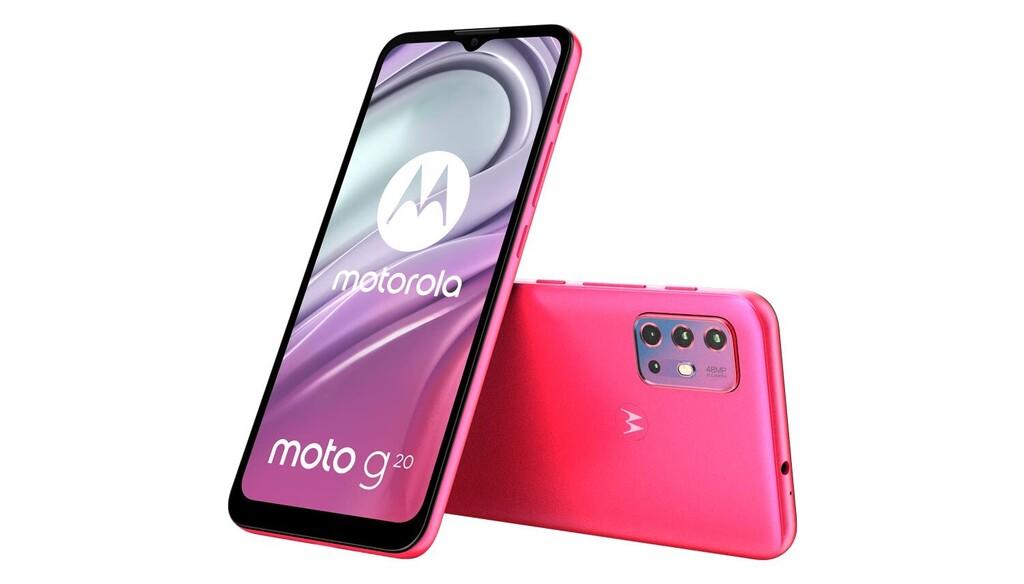 Motorola Moto G20: gran batería y 90Hz para jugar varias horas en HD