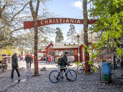 45 años de Christiania, una pequeña ciudad libre en el corazón de Copenhague