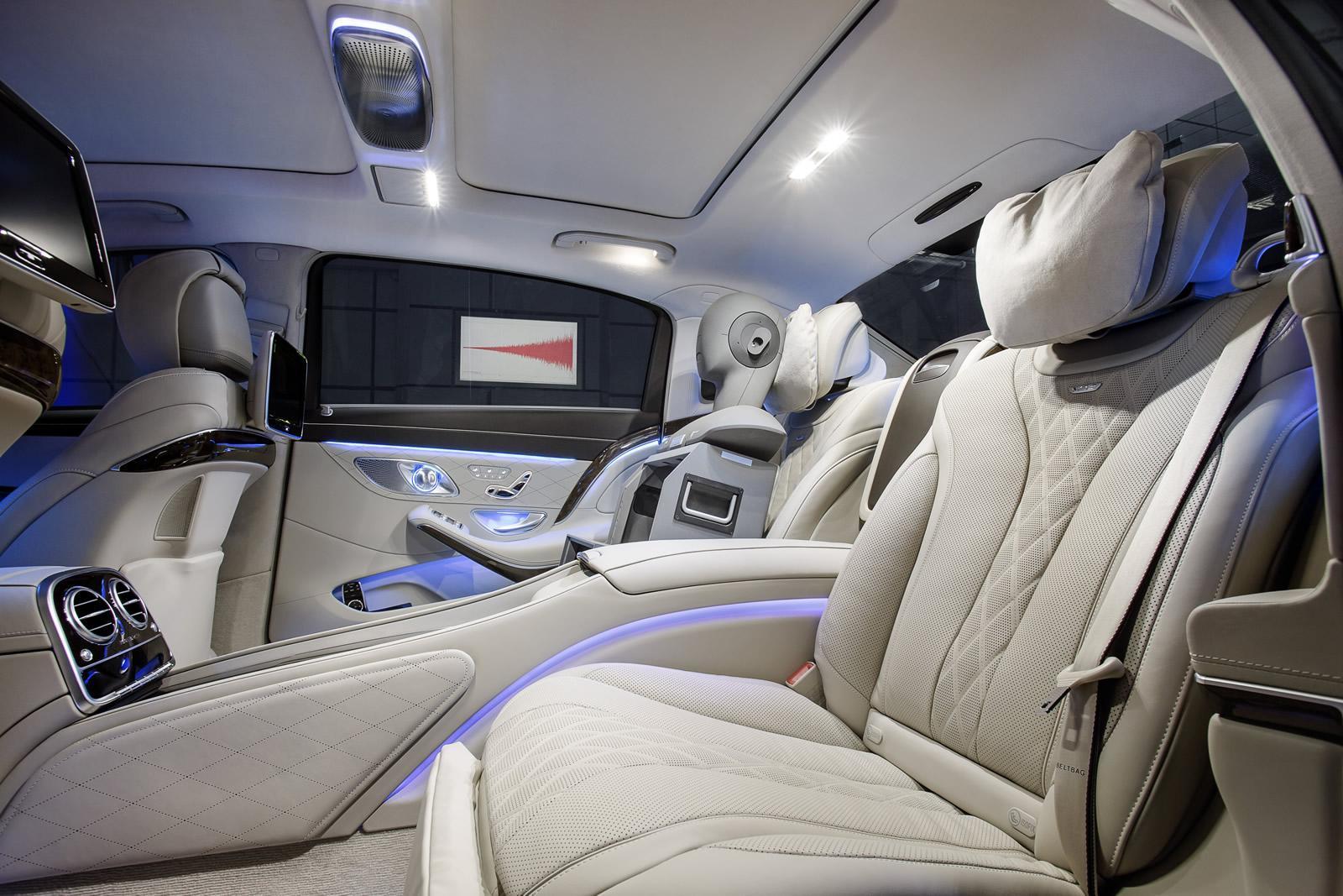 Mercedes-Benz Clase S Maybach