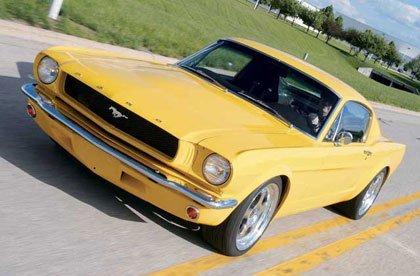 El Ford Mustang SN65 a la venta en eBay