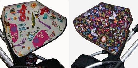 Nuevas y primaverales capotas para las sillas Bugaboo