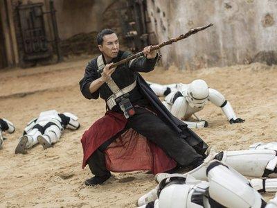 """Donnie Yen cree que su personaje en 'Star Wars' es un cliché: """"Querían a Ip Man en Rogue One"""""""