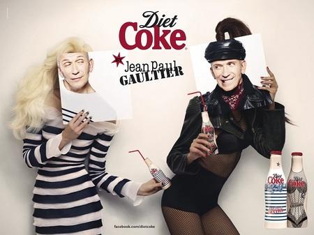 Diet Coke se viste de Jean Paul Gaultier