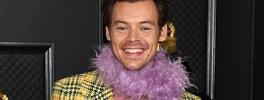 Harry Styles y Bad Bunny lo petan con sus looks de Gucci y Burberry en la alfombra roja de los Premios Grammy 2021