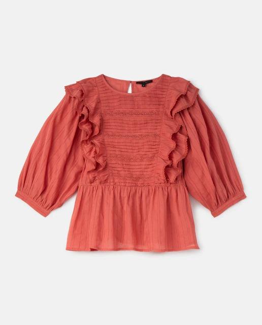 Blusa de mujer de rayas con lúrex de Tintoretto