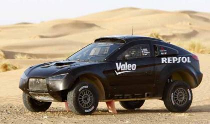 El Mitsubishi Racing Lancer MRX09 ya está listo