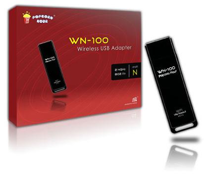Adaptador WiFi WN-100 para reproductores PopCorn