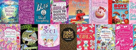 ¿Libros para niñas o para niños? Mejor que disfruten con libros para todos