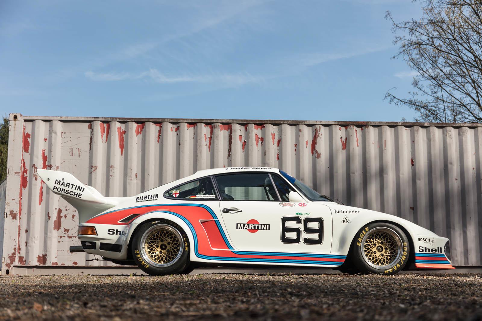 Foto de Porsche 930 clásico a subasta (41/42)