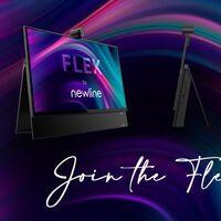 """Newsline Flex, un monitor táctil de 27"""" con lápiz incorporado pensado para videoconferencias en casa"""