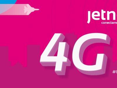 Jetnet ya ofrece 4G desde hoy, pero no será gratuito en todas las tarifas