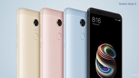 Xiaomi Redmi Note 5 Colores