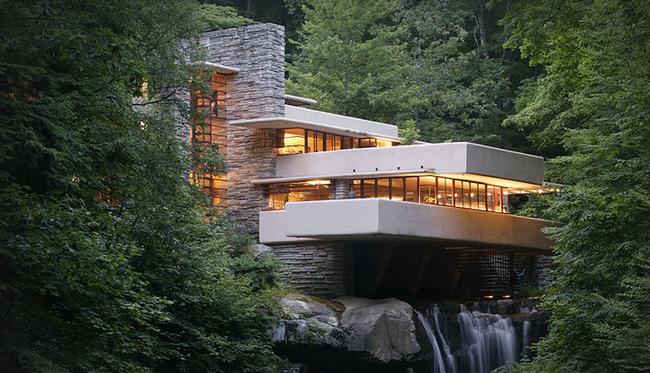 Todo lo que tienes que saber sobre la Casa de la Cascada en el 150 aniversario del nacimiento de Frank Lloyd