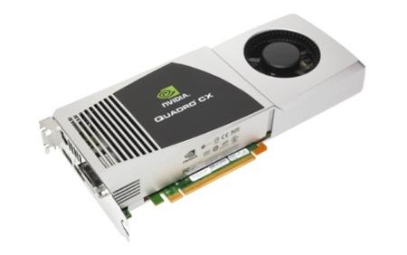 NVidia Quadro CX, para profesionales del diseño