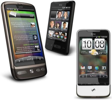 HTC Desire, Legend y HD Mini, el equipo fantástico