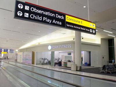 Gimnasios en el aeropuerto o cómo mantenerse en forma mientras esperas un vuelo