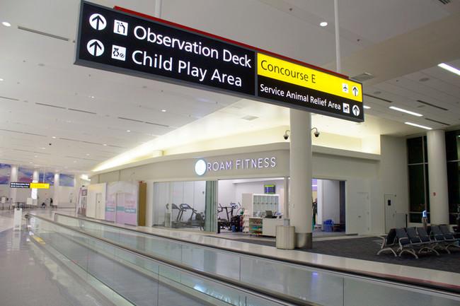 Gimnasios En El Aeropuerto O Como Mantenerse En Forma Mientras Esperas Un Vuelo