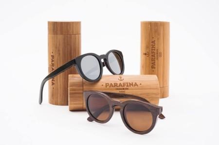 aedc975d62 Parafina Co es una marca con gafas de sol diferentes, ya que sus modelos  están realizados en madera de bambú. Los impulsores del proyecto además  colaboran ...