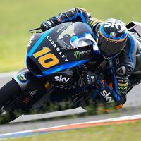Luca Marini es el más rápido de Moto2 en Tailandia con siete pilotos separados por solo una décima