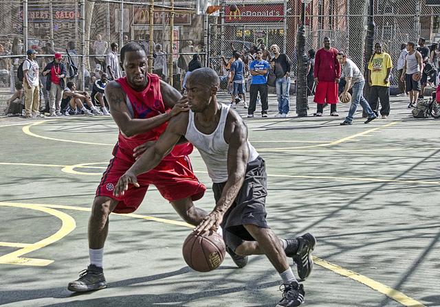 Basket callejero