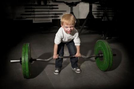 El mito del crecimiento en los niños y el entrenamiento con pesas