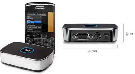 Realiza tus presentaciones directamente desde tu BlackBerry