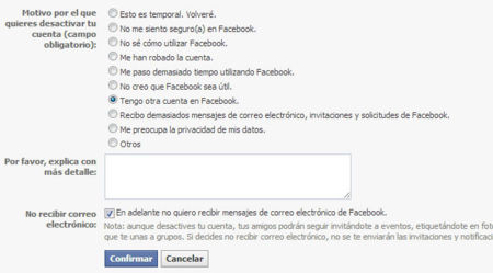 Baja Facebook paso 3