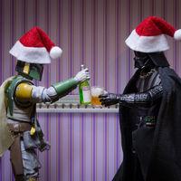 """Así celebran la Navidad los """"otros protagonistas"""" de Star Wars"""