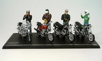 Joe Bar Team, figuras a 1/18