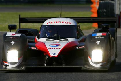 Peugeot aún no se ve lista para Le Mans