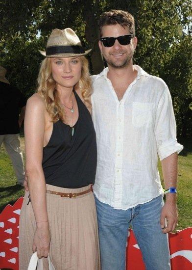 Diane Kruger no podía perderse el festival de música Coachella