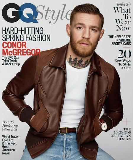 Conor McGregor para GQ Style Spring 2017